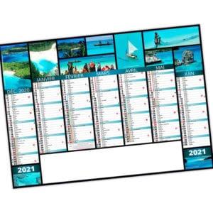 calendrier bancaire_cartonné_publicitaire_personnalisé_Ideacomm