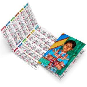 calendrier de poche_publicitaire_cadeau_Ideacomm_pharmacie