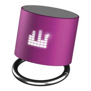 Enceinte Bluetooh_logo lumineux_objet connecte_cadeau_ideacomm