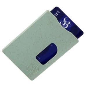 porte-carte_RFID_fibre de paille_eco-responsable_accessoire de poche_ideacomm