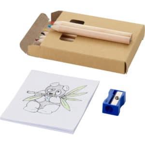 set crayons_crayons couleur_crayon bois_enfants_coloriage_restaurant_ideacomm