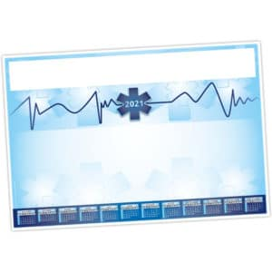 sous-main_calendrier_clavier_medical_ambulance_personnalisable_ideacomm