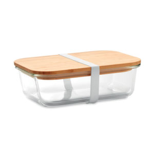 Lunch box personnalisable bambou